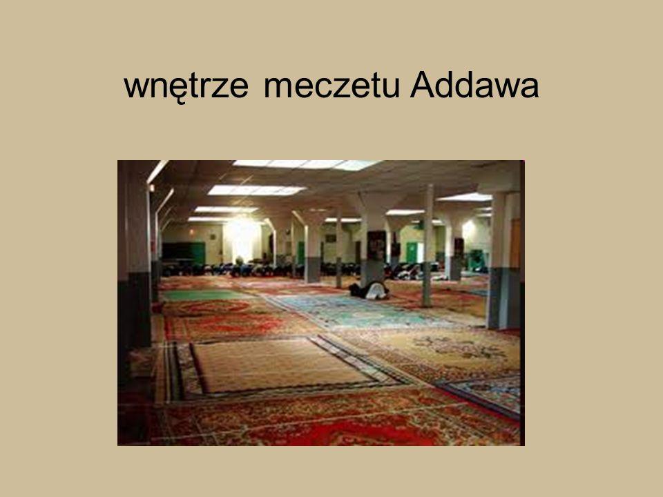 wnętrze meczetu Addawa