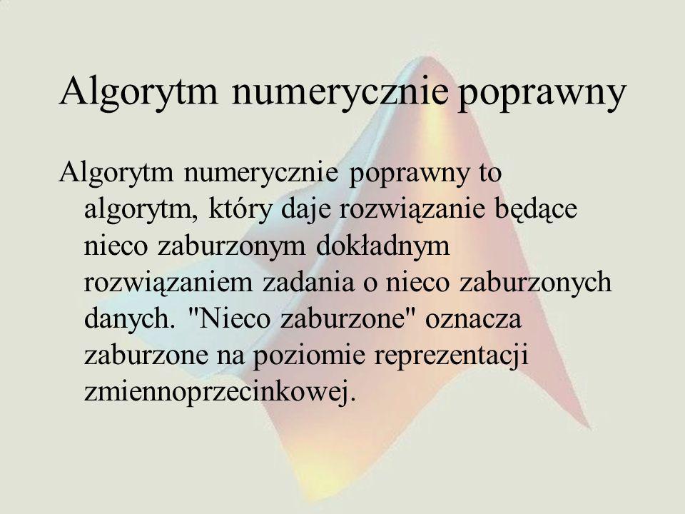 Przykład mex funkcji #include #include mex.h void mexFunction(int nlhs, mxArray *plhs[],int nrhs, const mxArray *prhs[]) { double *x, *y ; double sqsum ; int i, m, n, N ; if(nrhs != 1) { mexErrMsgTxt( SQCUM: Only one input argument allowed. ) ; } if(nlhs != 1) { mexErrMsgTxt( SQCUM: Only one output argument allowed. ) ; } m = mxGetM(prhs[0]) ; n = mxGetN(prhs[0]) ; if(((m > 1) && (n > 1)) || !mxIsDouble(prhs[0])) { mexErrMsgTxt( TRGtest: Only one dimension input vector allowed. ) ; } N = m*n ; x = mxGetPr(prhs[0]); plhs[0] = mxCreateDoubleMatrix(1,N,mxREAL) ; y = mxGetPr(plhs[0],y) ; sqsum = x[0] ; y[0] = x[0] ; for(i = 1 ; i < N ; i++) { sqsum = sqsum - x[i]*(sqsum > 0 .