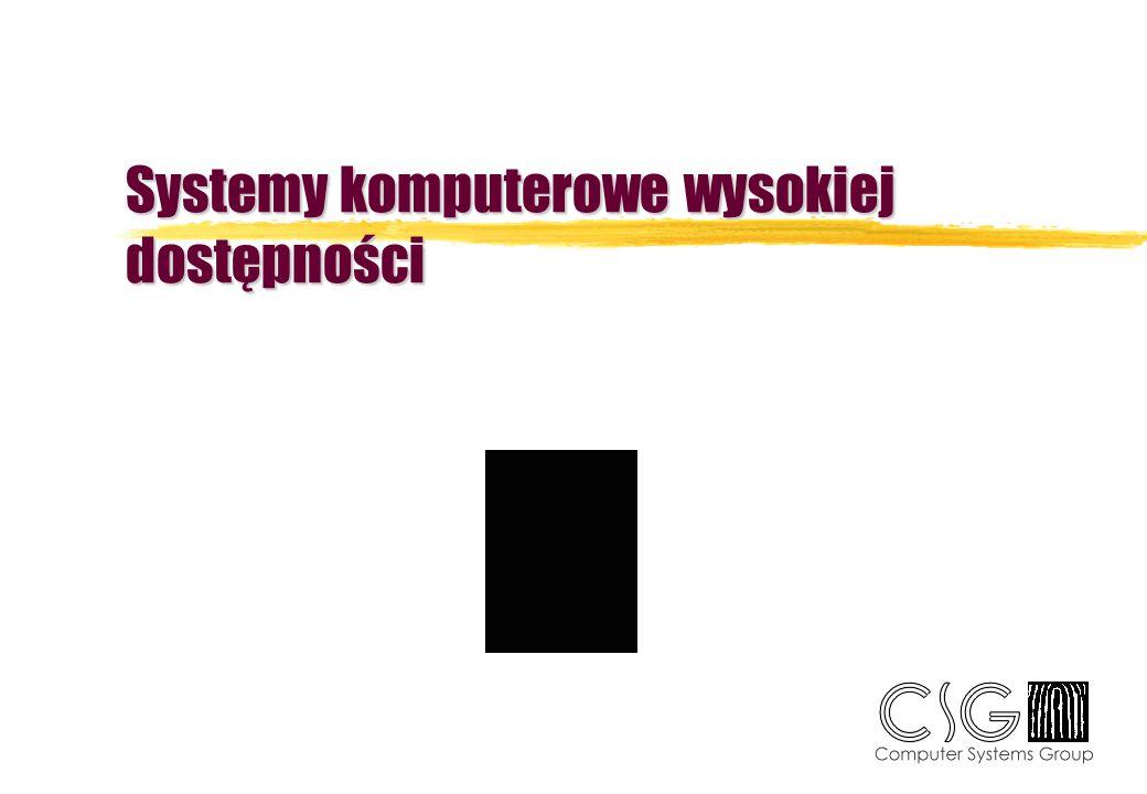 Strategia tworzenia HAS zOkreślenie kosztów przestoju systemu informatycznego zOkreślenie kosztów, które można można ponieść dla instalacji HAS zPrzydatne pojęcia: ysystem bazowy (basic system) ysystem failover (dwa systemy - jedno przeznaczenie) ydisaster recovery yredundancja