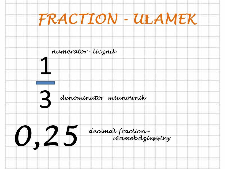 2, 4, 6, 8, 10, 12, … even numbers – liczby parzyste 1, 3, 5, 7, 9, 11 … odd numbers – liczby nieparzyste