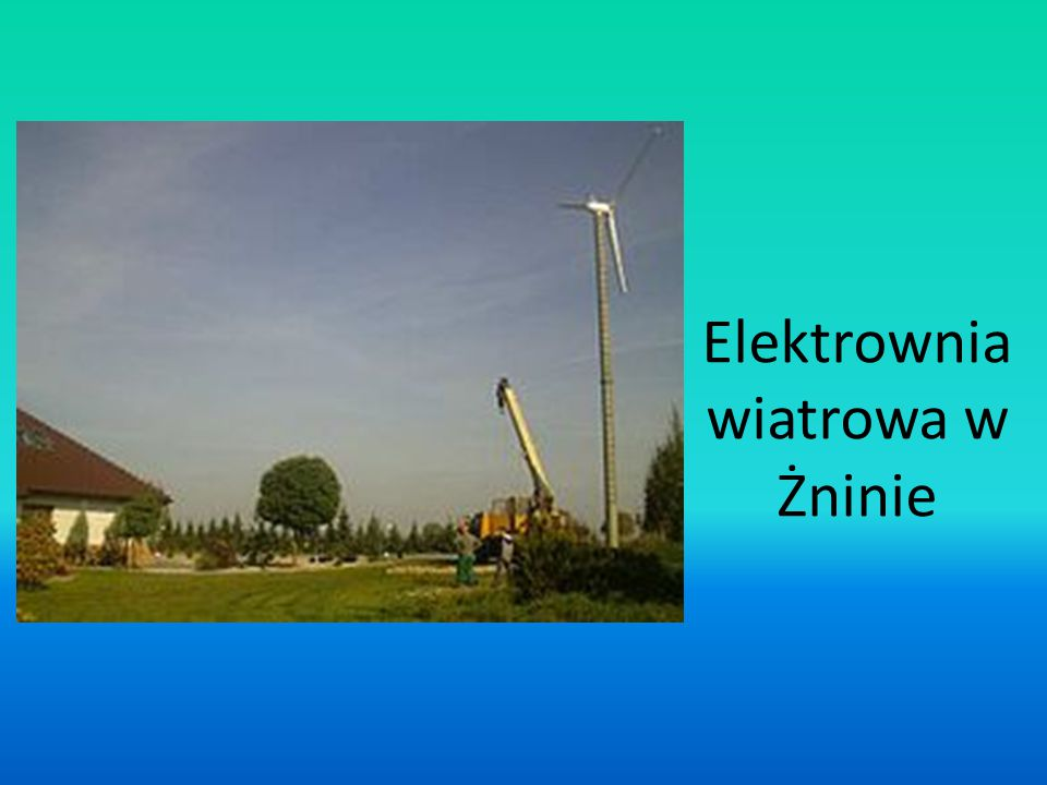 Elektrownia wiatrowa w Żninie