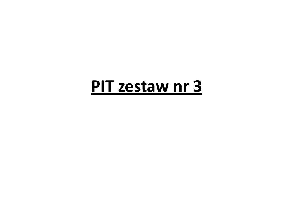 PIT zestaw nr 3
