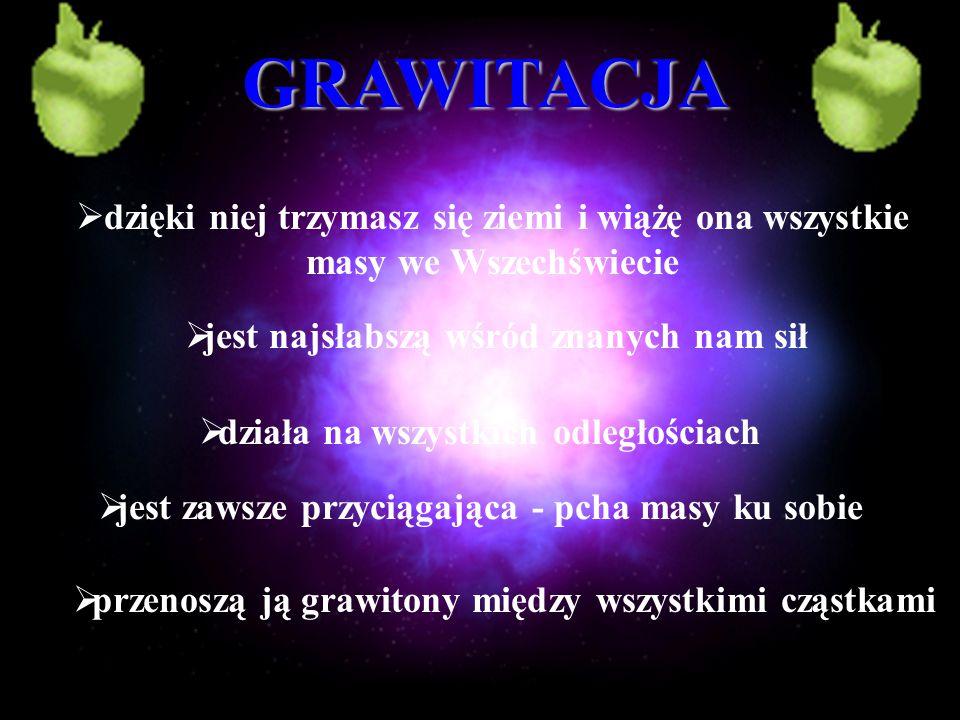 Grawitacja to chyba najciekawsze ze wszystkich oddziaływań.