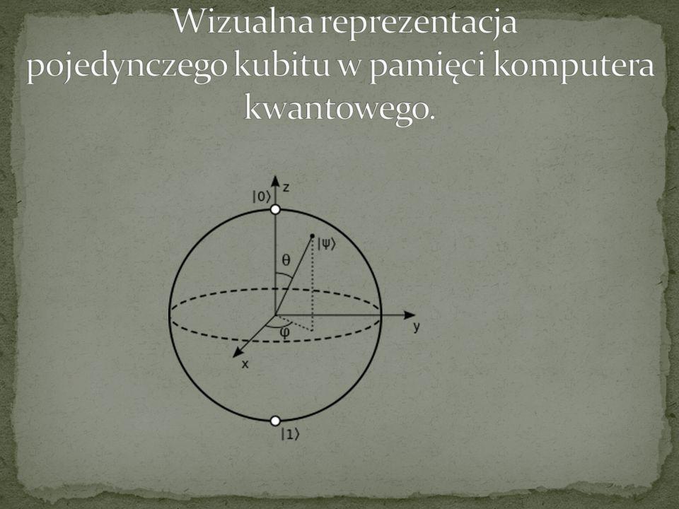 Na możliwość budowy komputerów wykorzystujących prawa fizyki kwantowej zwrócił uwagę na początku lat 80.