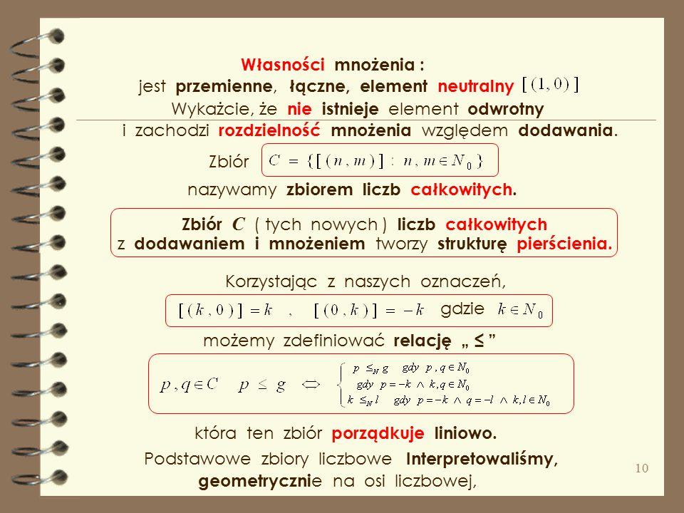 """zwrotna,symetryczna i przechodnia Relacja ta jest czyli relacja """" ~ """" jest i dzieli zbiór na klasy abstrakcji ( warstwy ), które zapisujemy Zauważmy,"""