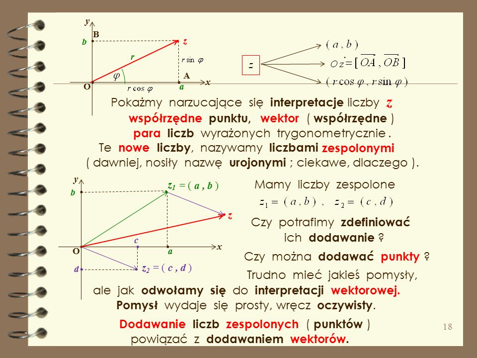 I znowu powróćmy do geometrycznej interpretacji zbiorów liczbowych. R.. 0 1 Ale w gimnazjum poznaliśmy układ osi liczbowych, zwany prostokątnym układe