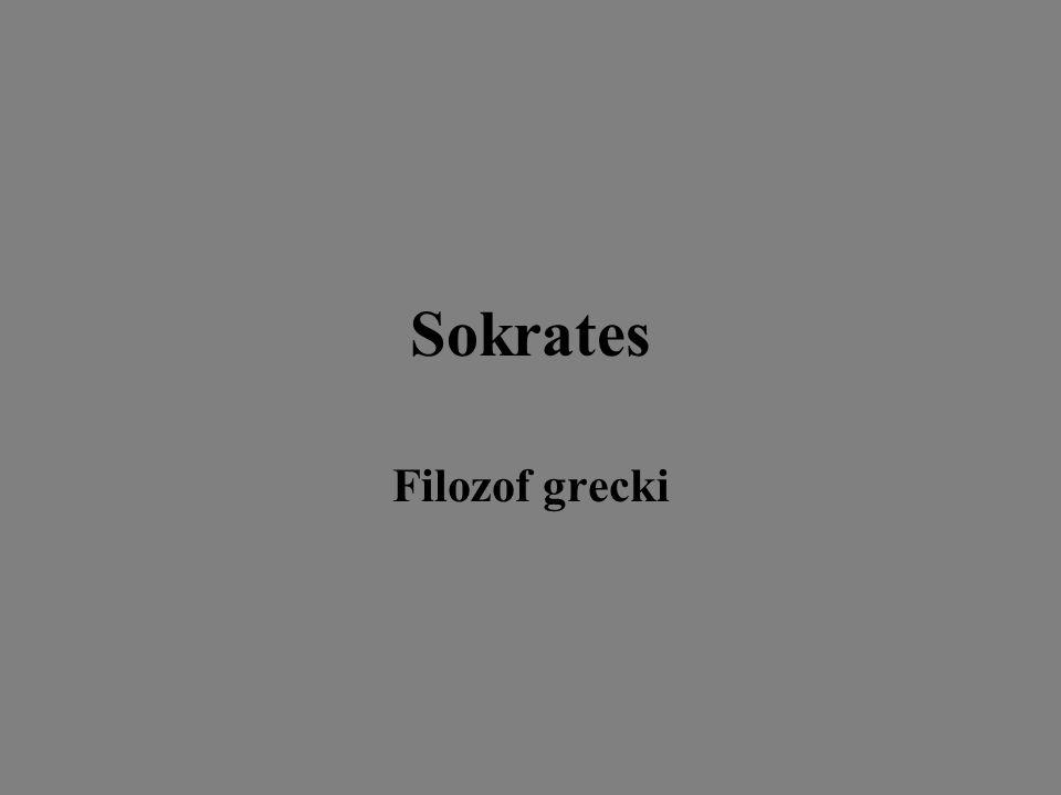Sokrates Filozof grecki