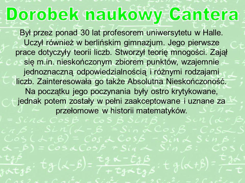 Był przez ponad 30 lat profesorem uniwersytetu w Halle.