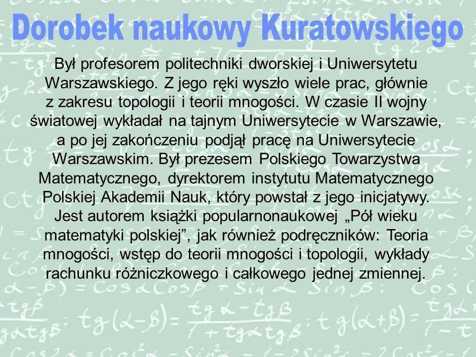 Był profesorem politechniki dworskiej i Uniwersytetu Warszawskiego.