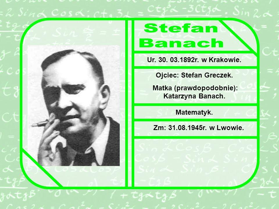 Ur.30. 03.1892r. w Krakowie. Ojciec: Stefan Greczek.