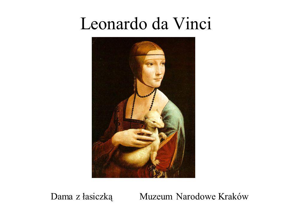 Leonardo da Vinci Dama z łasiczką Muzeum Narodowe Kraków
