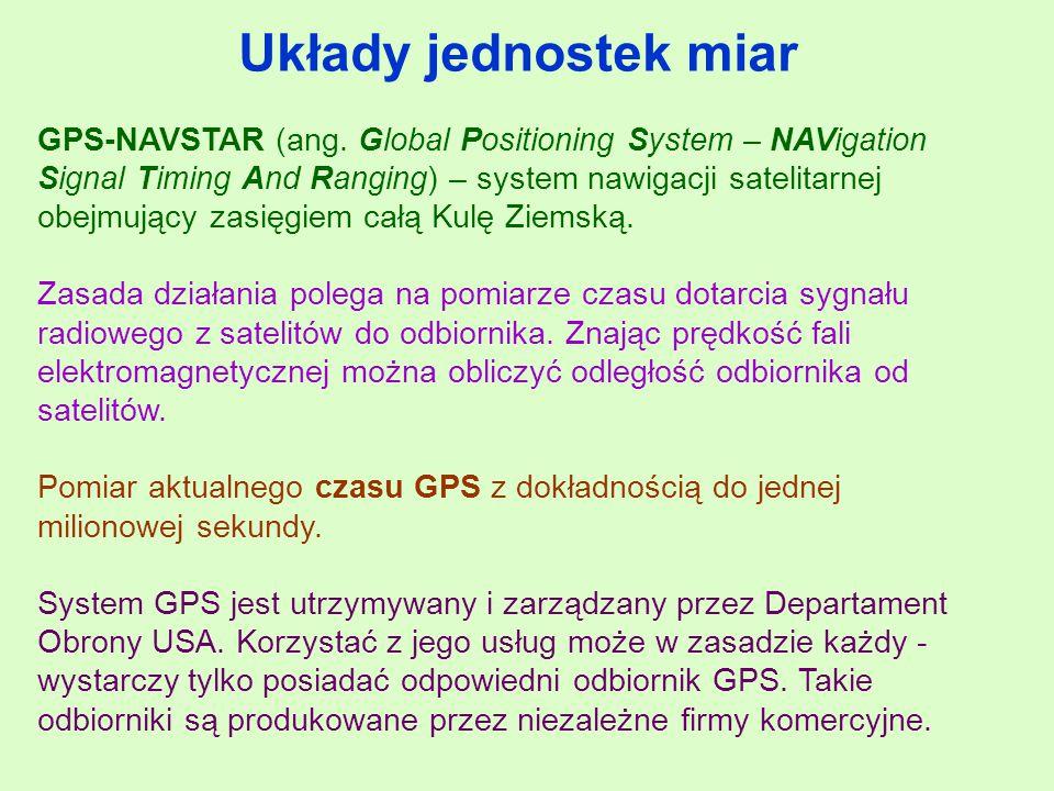 GPS-NAVSTAR (ang.