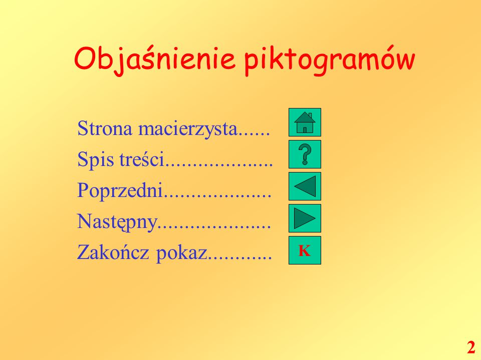 Spis Treści Objaśnienie piktogramów Dzieje Matematyki Pitagoras Tales z Miletu Archimedes Euklides Wielcy o matematyce Mniej poważnie Znaczenie liczb Podsumowanie 3 K