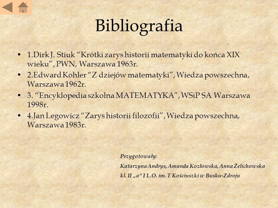 Bibliografia 1.Dirk J.