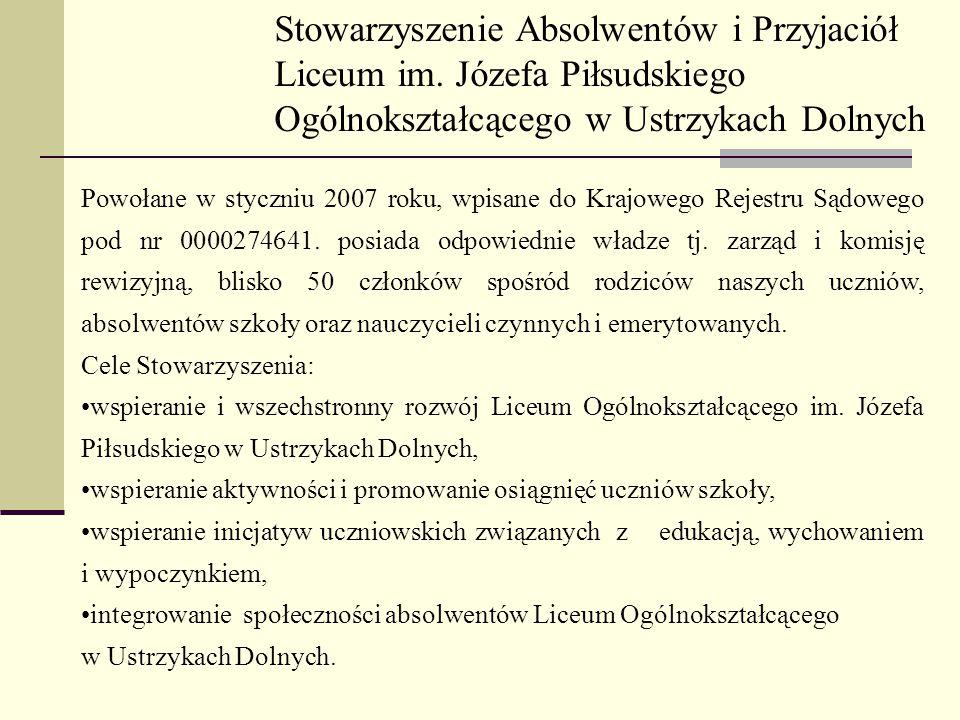 Stowarzyszenie Absolwentów i Przyjaciół Liceum im.