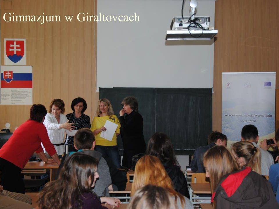 Gimnazjum w Giraltovcach