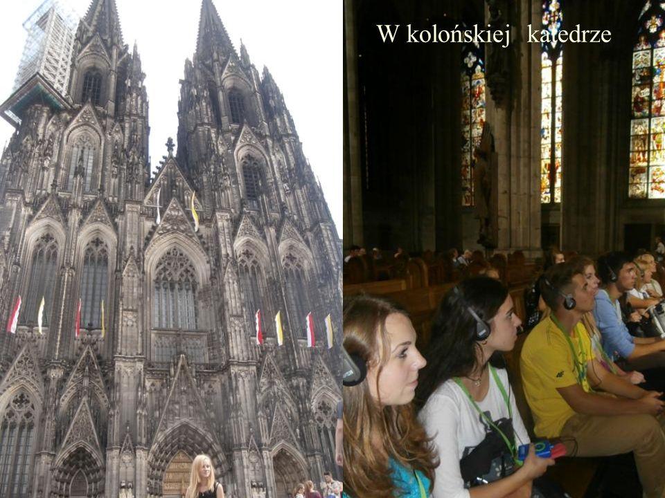 W kolońskiej katedrze