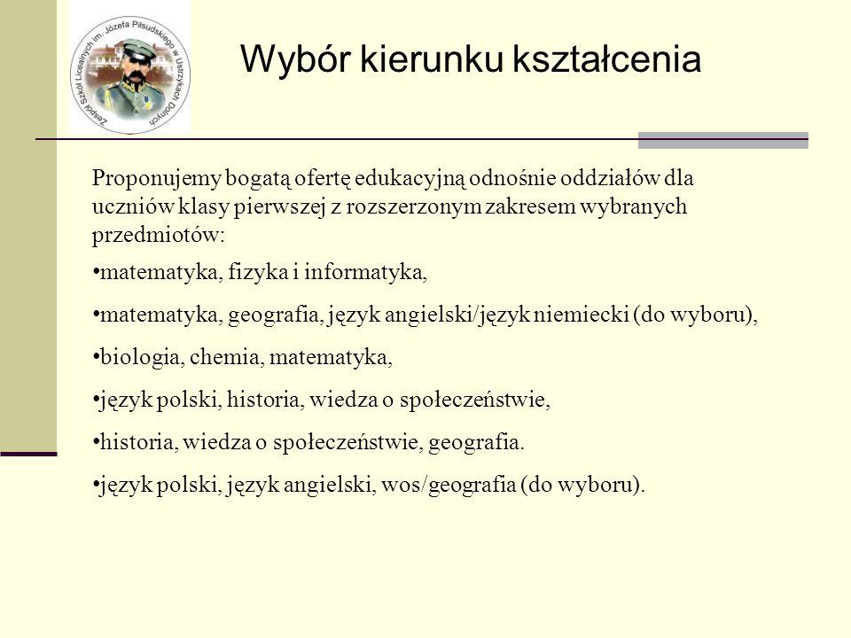 Zespół Szkół Licealnych im.Józefa Piłsudskiego ul.