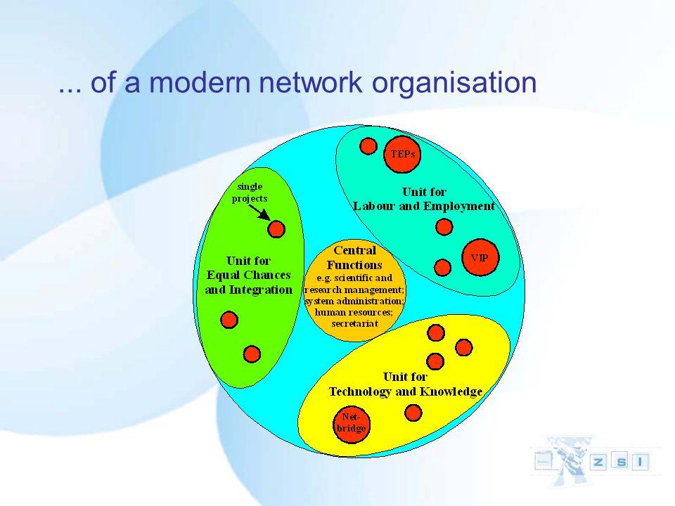 ... of a modern network organisation