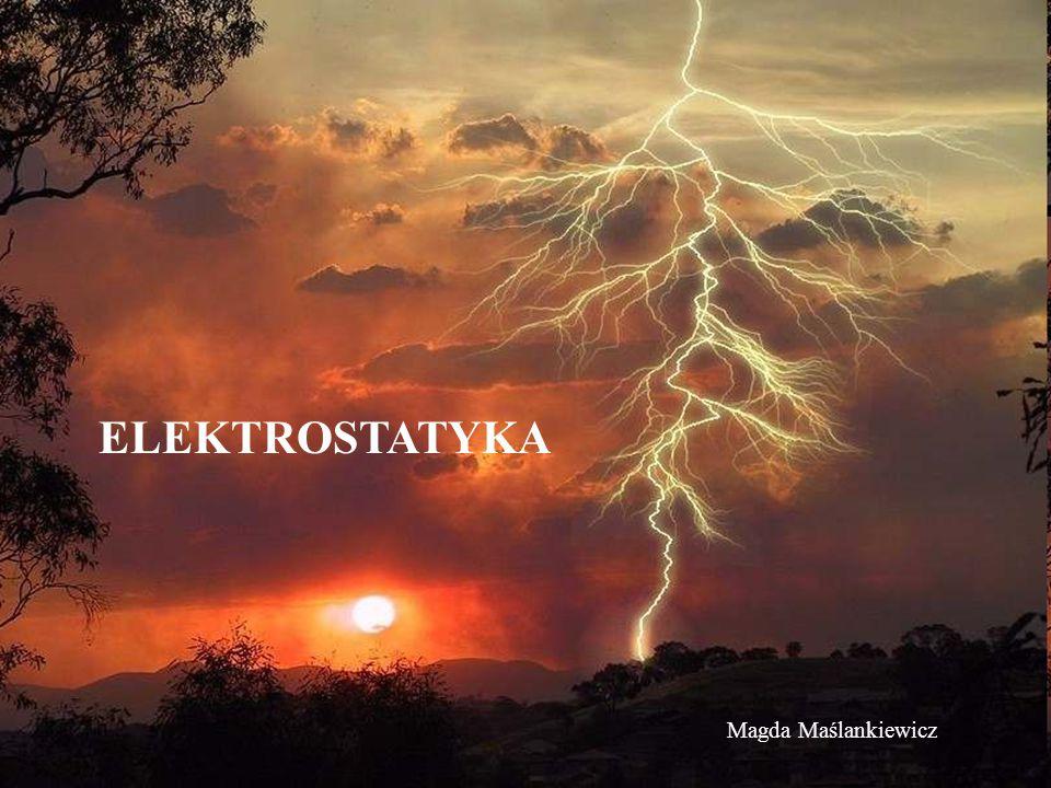 ELEKTROSTATYKA Magda Maślankiewicz
