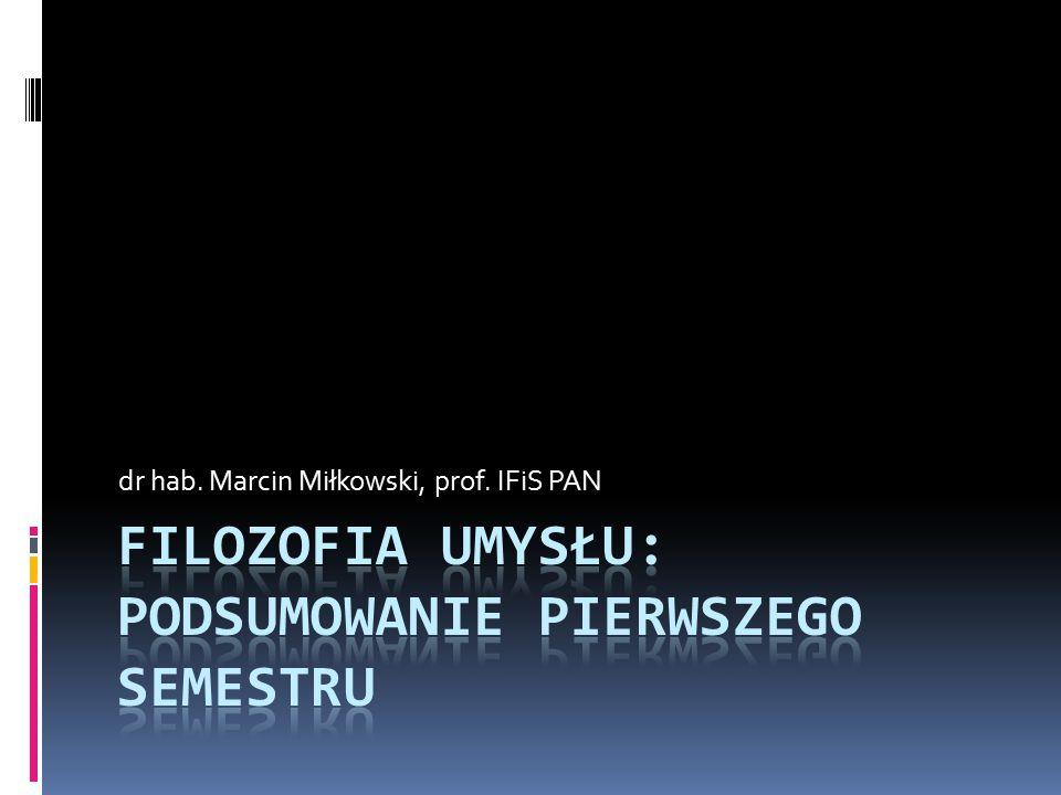 dr hab. Marcin Miłkowski, prof. IFiS PAN