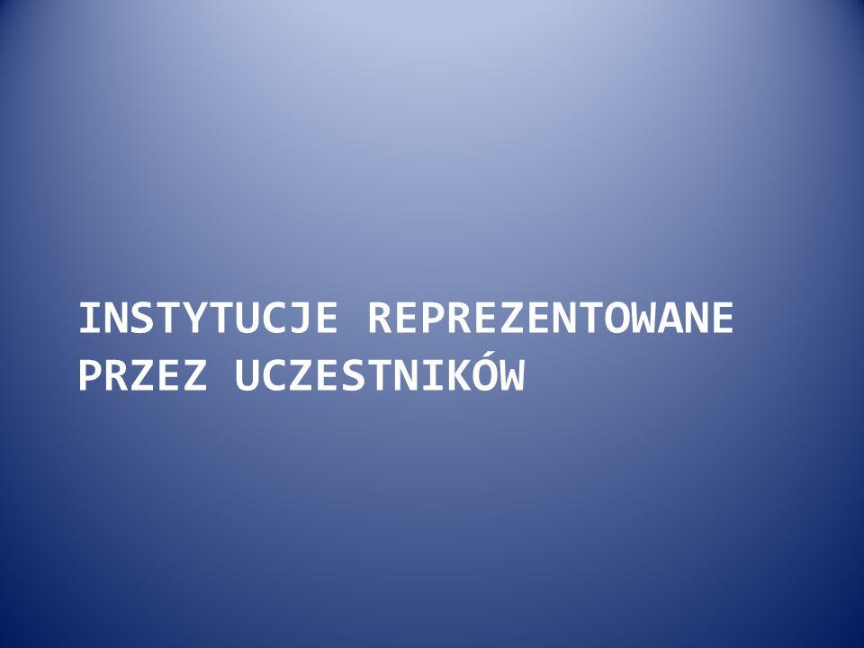 Liczba instytucji i uczelni reprezentowanych przez Uczestników Kongresu