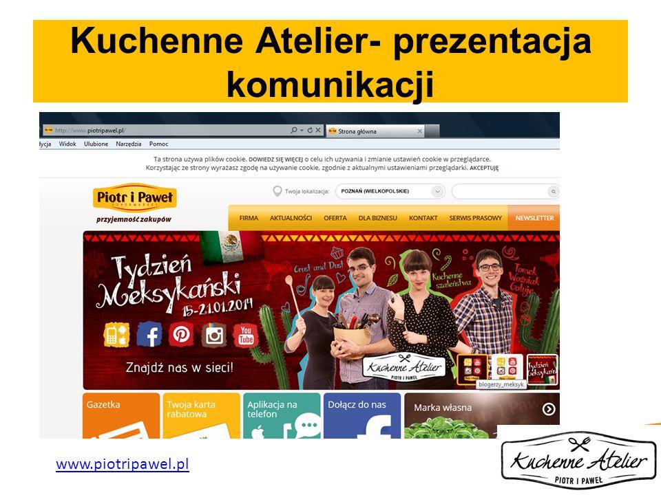 Kuchenne Atelier- prezentacja komunikacji www.piotripawel.pl