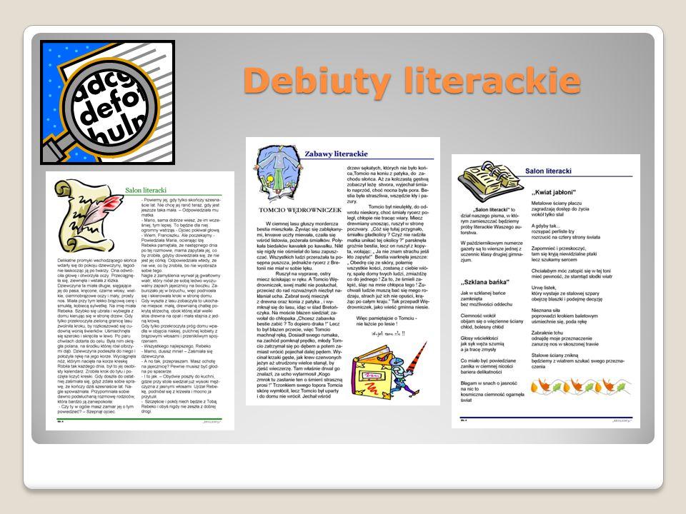 Debiuty literackie