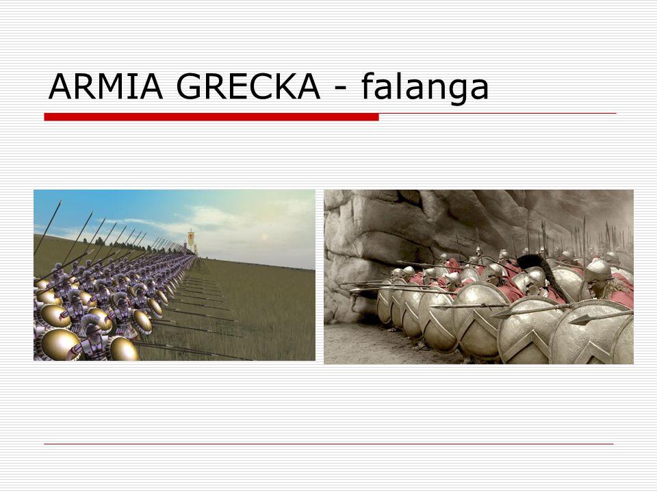 ARMIA GRECKA - falanga