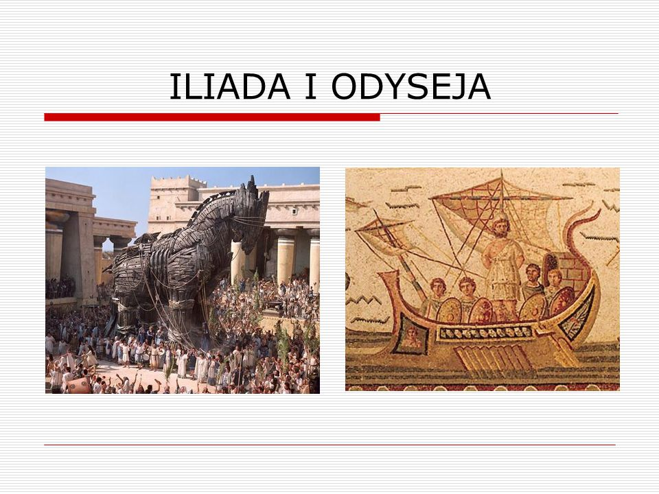 ILIADA I ODYSEJA