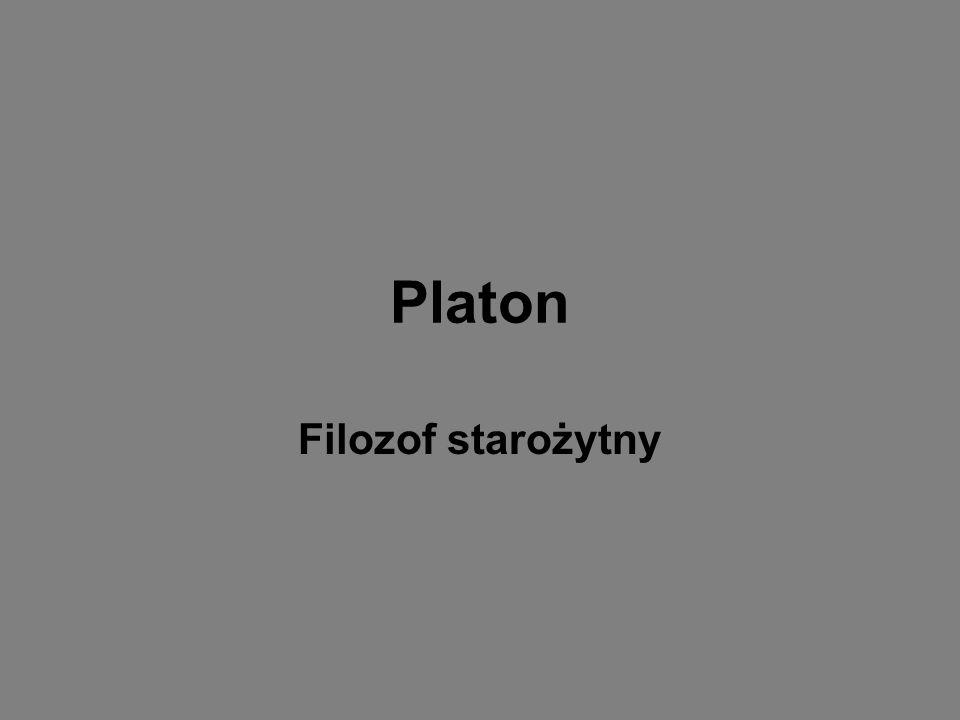Platon Filozof starożytny