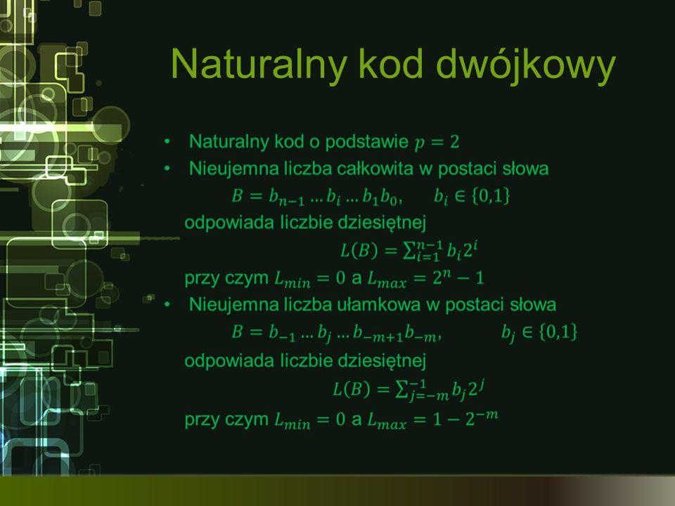 Naturalny kod dwójkowy