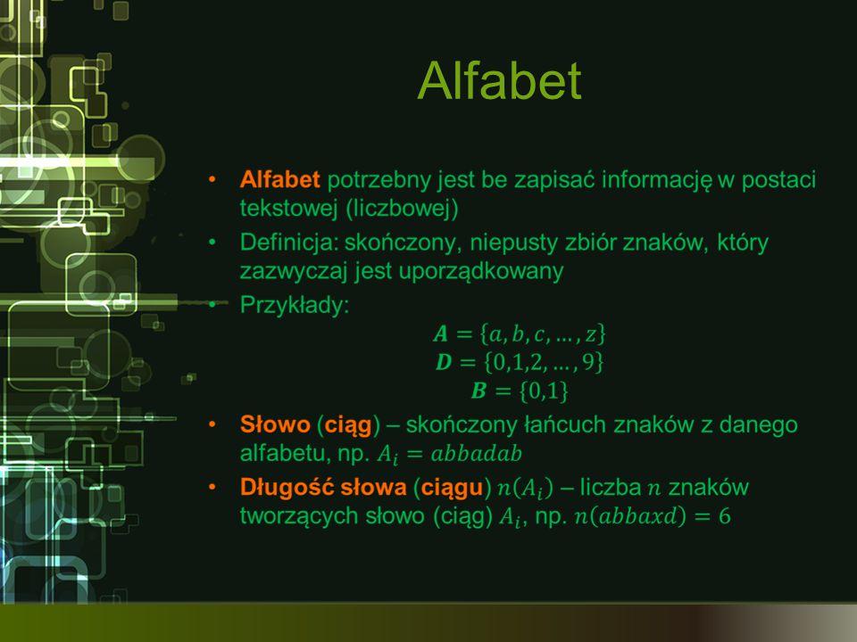Formuły kodowania naturalnego (2)