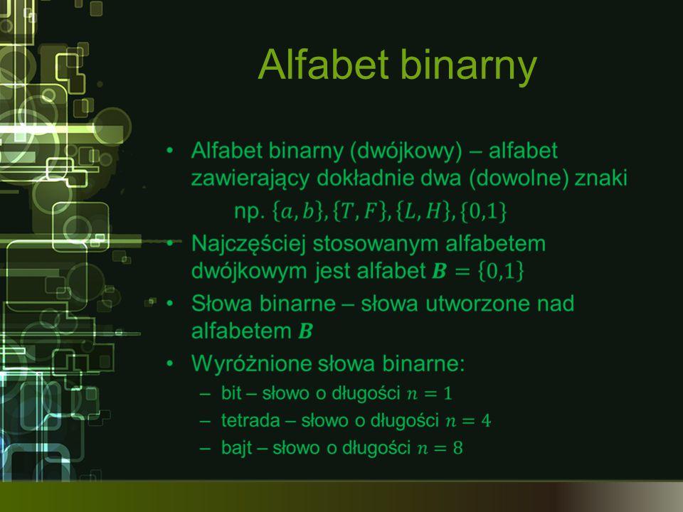 Język Język – skończony i niepusty zbiór różnych słów nad danym alfabetem Semantyka – znaczenia słów języka Składnia (syntaktyka) – zbiór reguł używania słów danego języka
