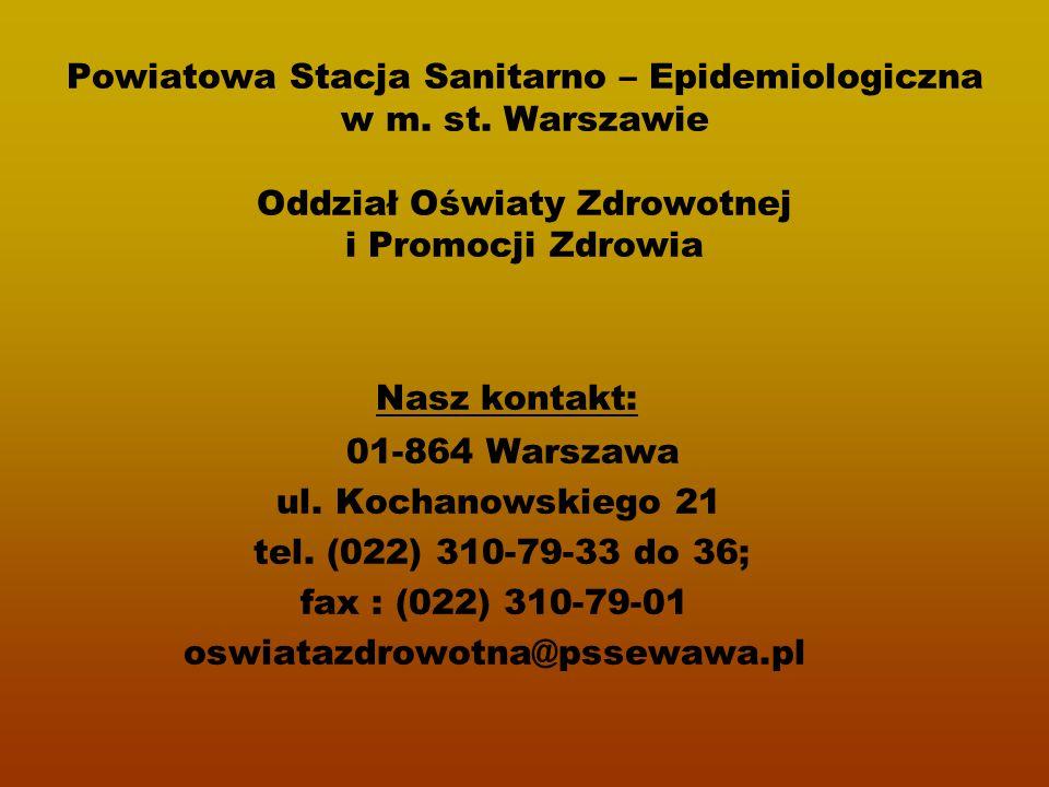 Powiatowa Stacja Sanitarno – Epidemiologiczna w m.