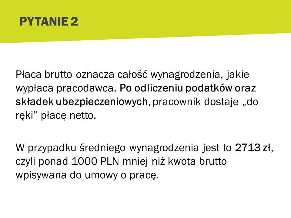 Średnie miesięczne wynagrodzenie brutto w Polsce to 3800 zł (GUS, czerwiec 2013 r.).
