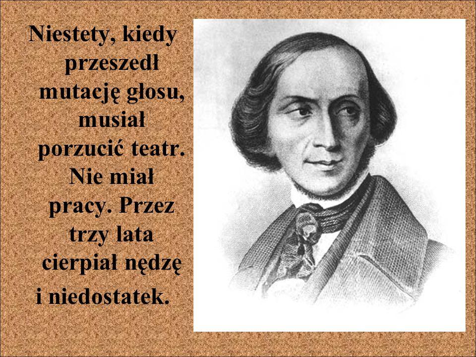 Ludzie docenili twórczość H.C. Andersena.