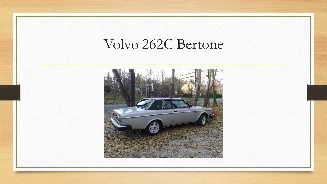 Volvo 262C Bertone