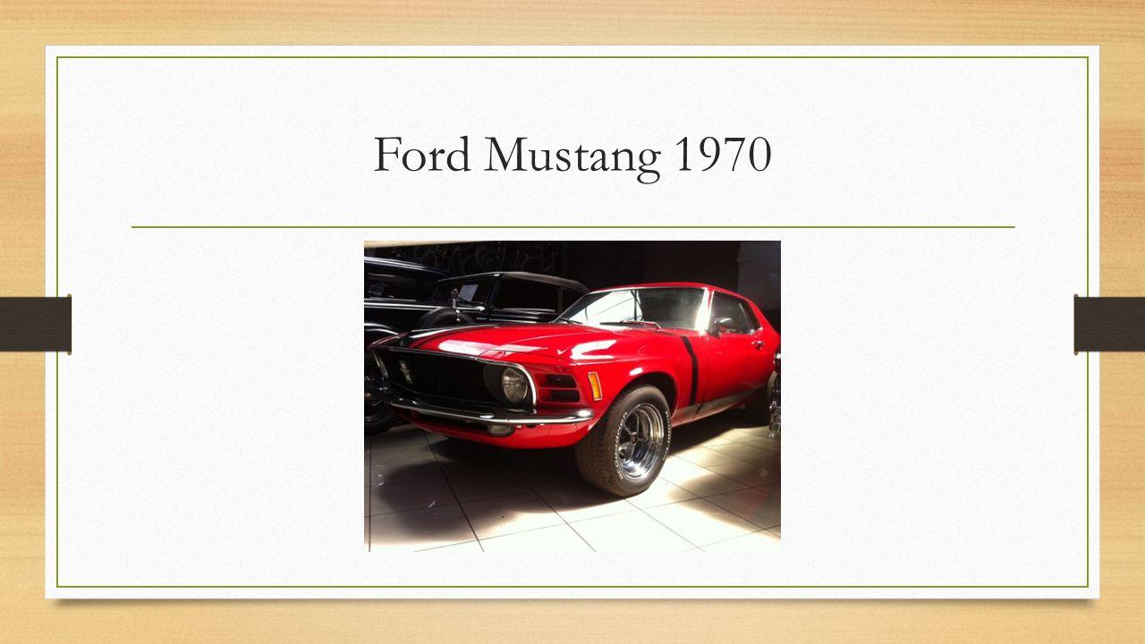 Amerykański samochód osobowy typu pony car produkowany od 1964 roku, jako amerykańska odpowiedź na produkowane w Europie sportowe wozy GT.