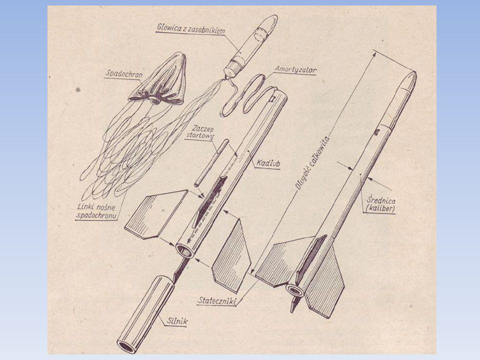 Zastosowanie aluminium PA38: Korpus rakiety, ew.