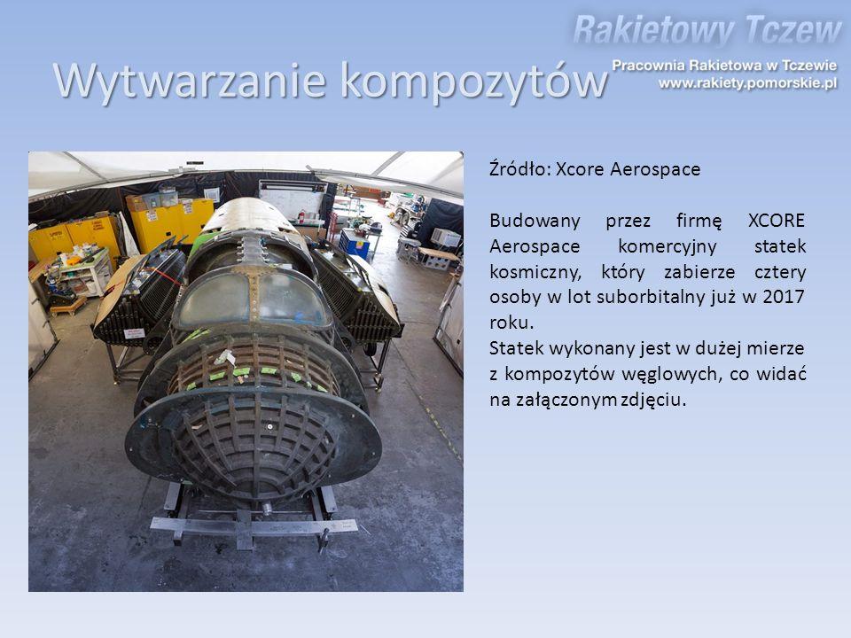 Źródło: Xcore Aerospace Budowany przez firmę XCORE Aerospace komercyjny statek kosmiczny, który zabierze cztery osoby w lot suborbitalny już w 2017 ro