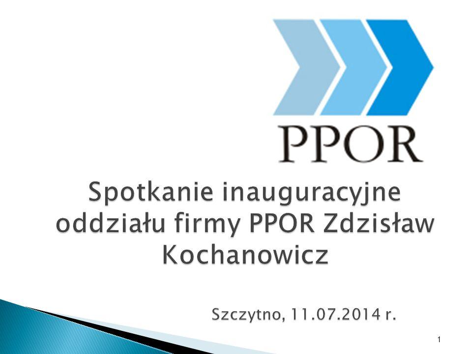 1 Spotkanie inauguracyjne oddziału firmy PPOR Zdzisław Kochanowicz