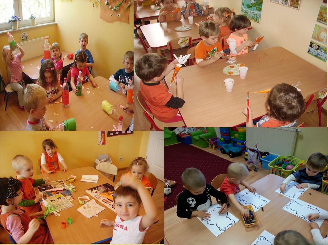 Inspirujemy dzieci do działania i pomagamy im współdziałać w grupie rówieśników.