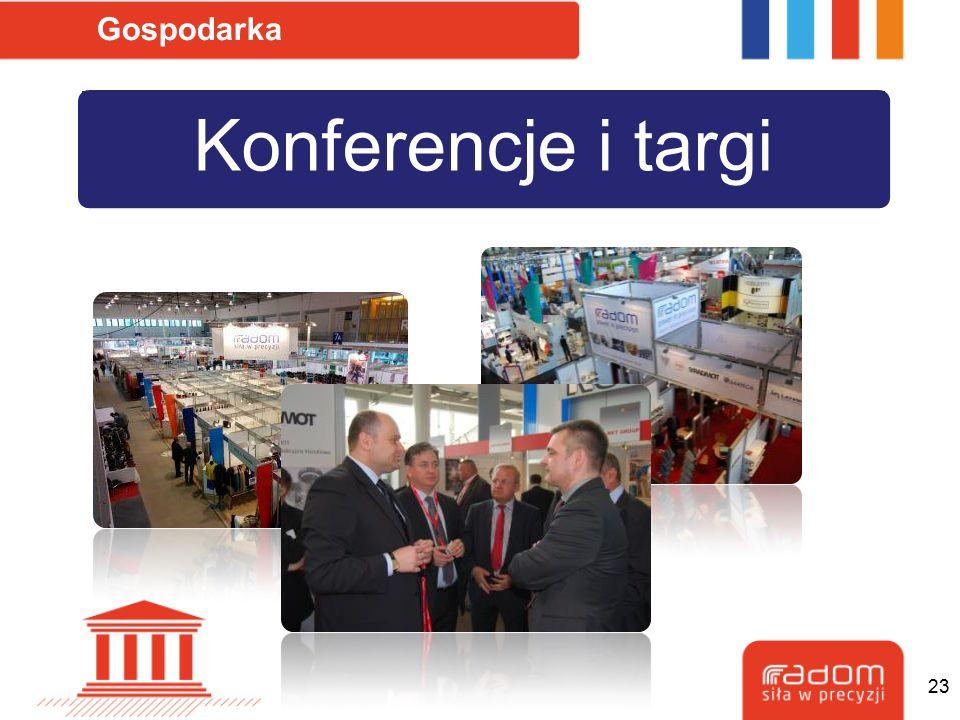 Konferencje i targi Gospodarka 23
