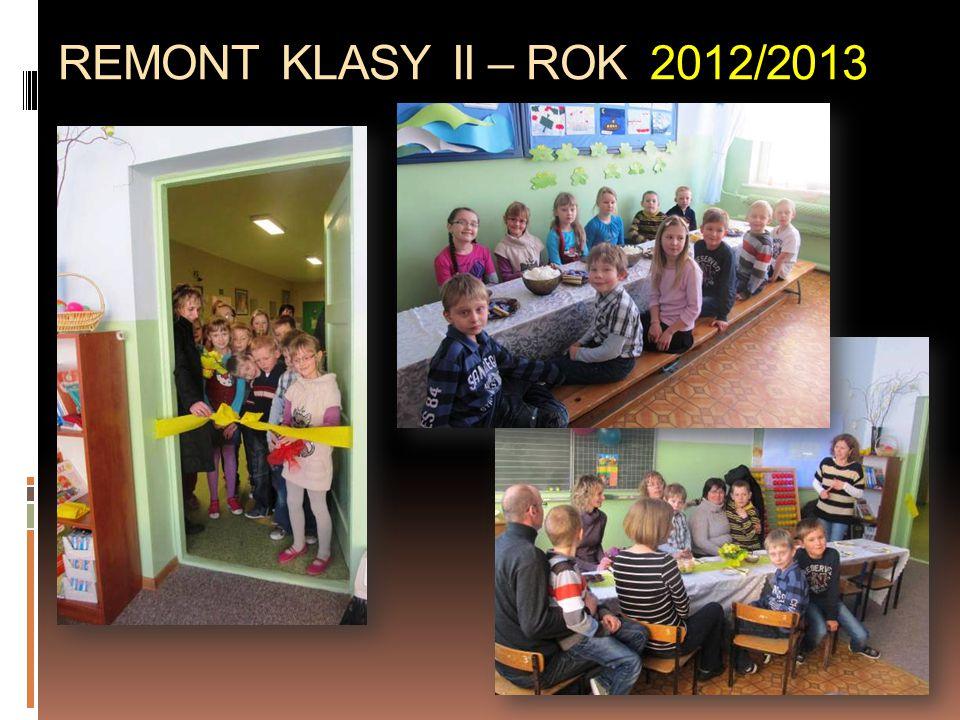 REMONT KLASY II – ROK 2012/2013