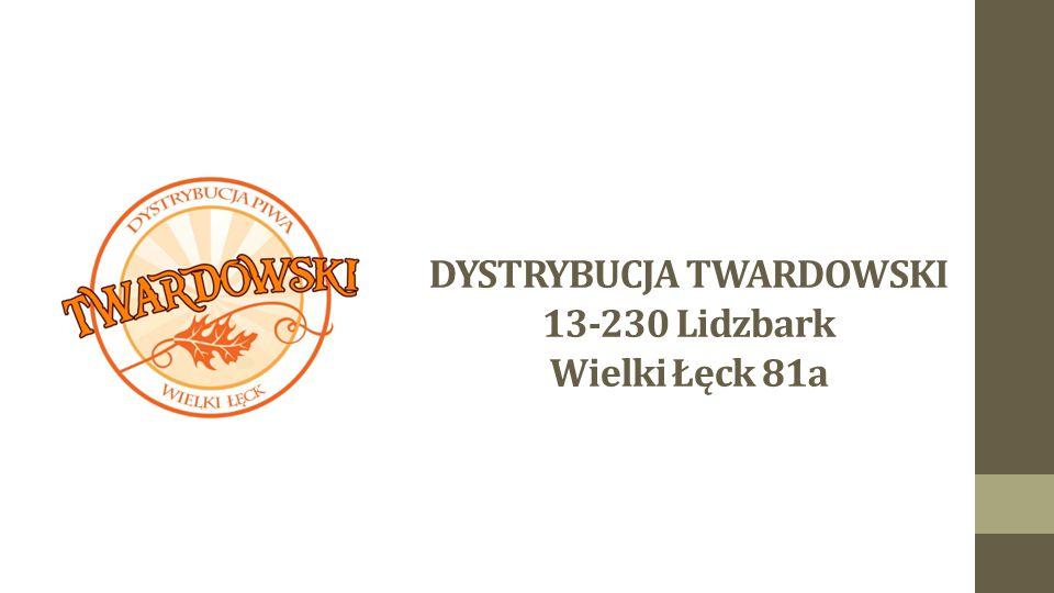 DYSTRYBUCJA TWARDOWSKI 13-230 Lidzbark Wielki Łęck 81a