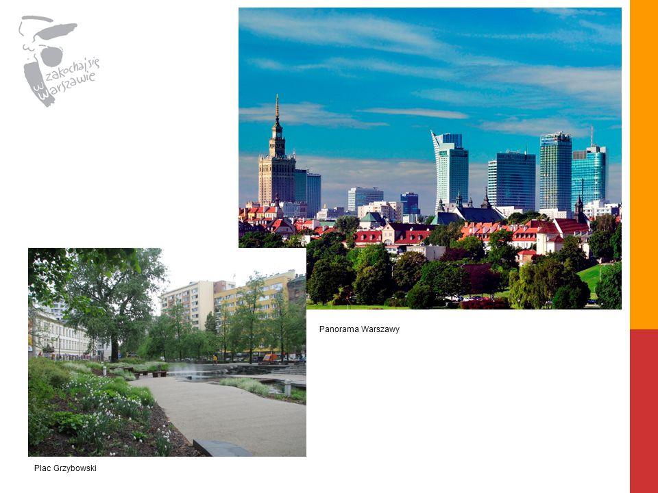 Plac Grzybowski Panorama Warszawy