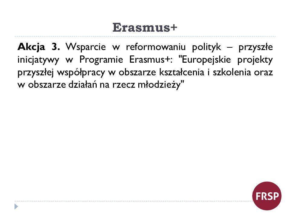 Erasmus+ Akcja 3.