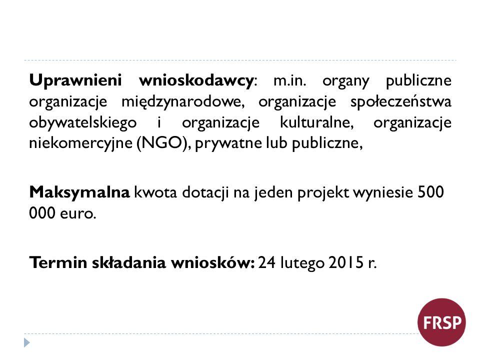MALUCH Organizator: MPiPS Na Program przeznaczono w 2015 roku kwotę 151 000 000 zł.
