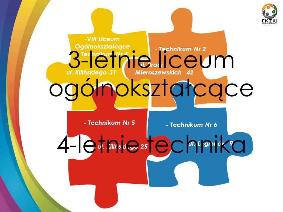 oferta kształcenia: Klasa akademicka-medialna pod patronatem Wyższej Szkoły Humanitas w Sosnowcu VIII Liceum Ogólnokształcące im.
